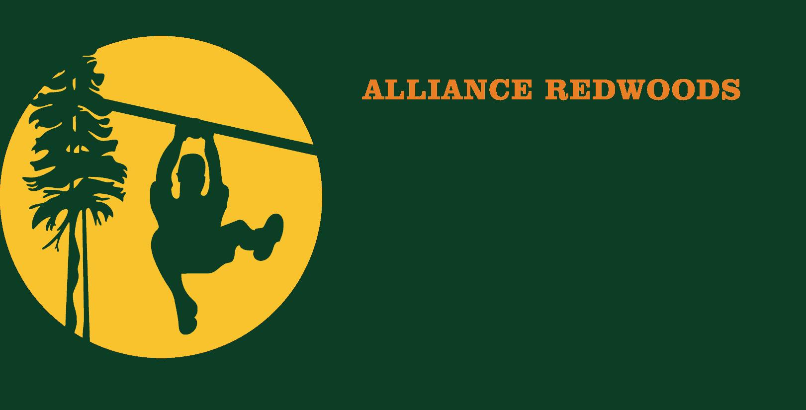 Alliance Redwoods Sonoma Zipline Adventures color logo